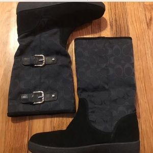 NWOT Coach Winter Boots